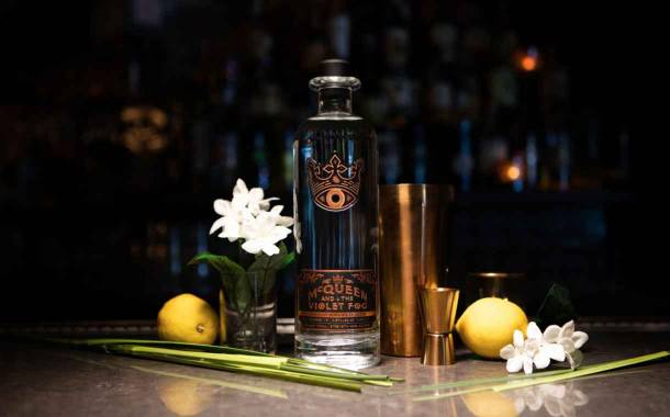 McQueen and the Violet Fog gin introduced by Sovereign Brands