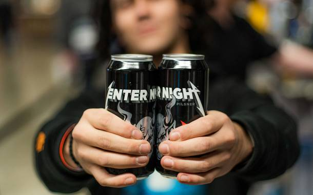 Metallica and Stone Brewing create Enter Night craft pilsner