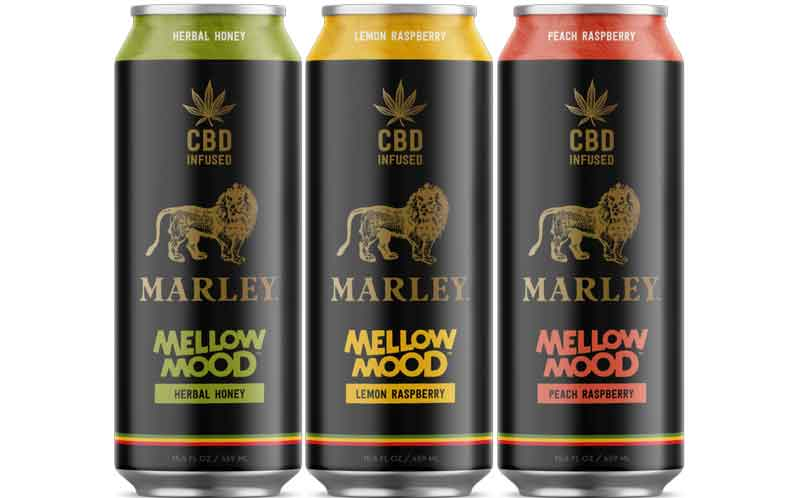 New Age Beverages introduces Marley line of CBD-infused drinks