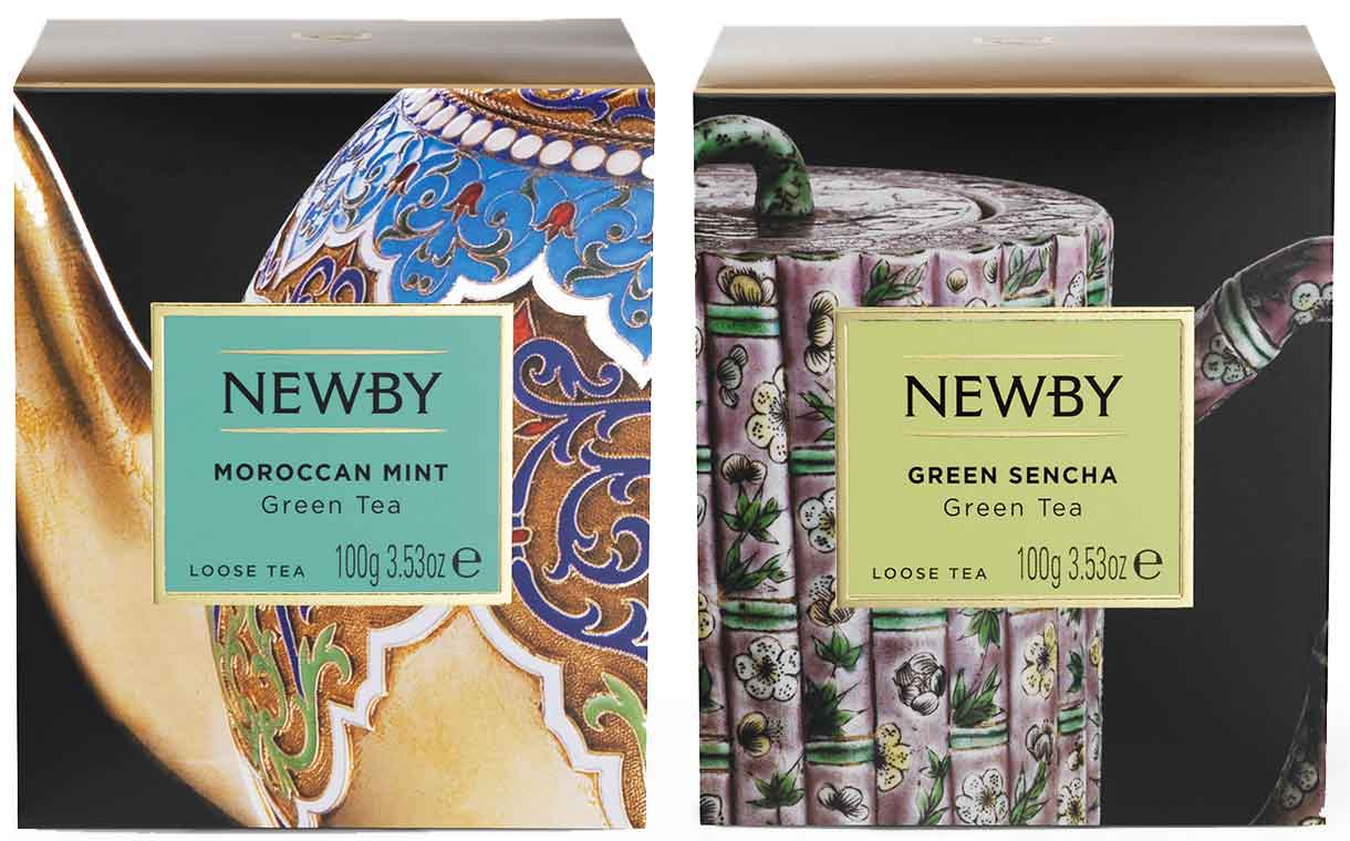 Newby Teas adds to 'premium' range of loose leaf green teas