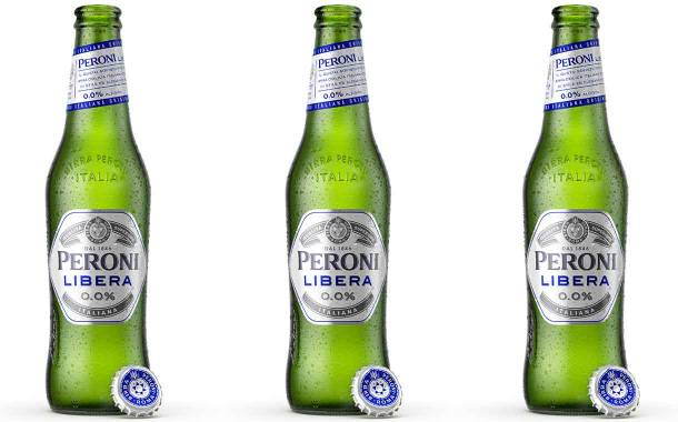 Asahi introduces Peroni Libera 0.0% non-alcoholic beer in UK