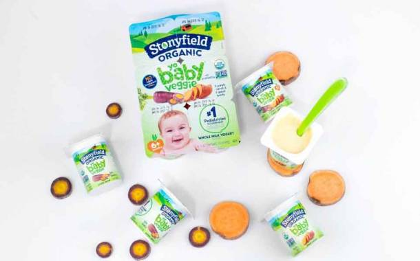 Lactalis expands Stonyfield line with new YoBaby Veggie yogurts