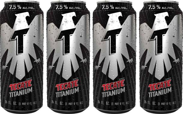 Heineken introduces 7.5% ABV Tecate Titanium beer in the US