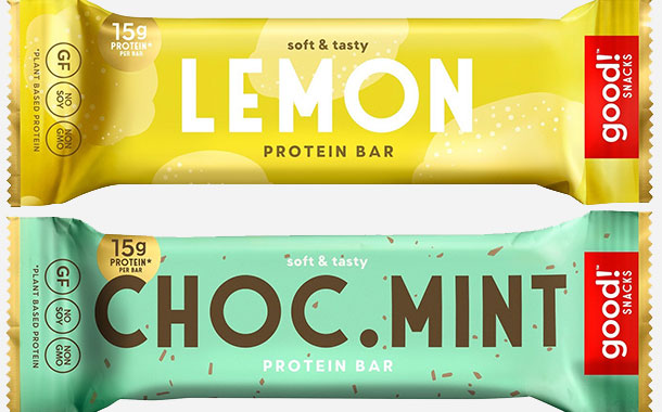 Good! Snacks releases new range of plant-based protein bars