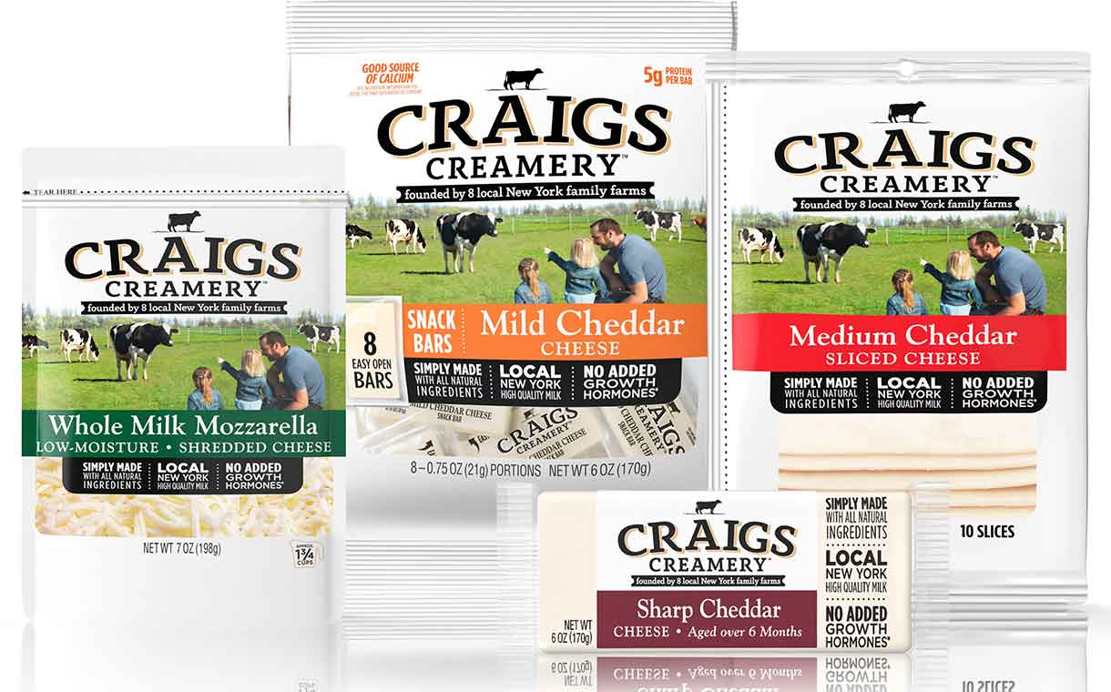 Dairy Farmers of America debuts Craigs Creamery cheese brand