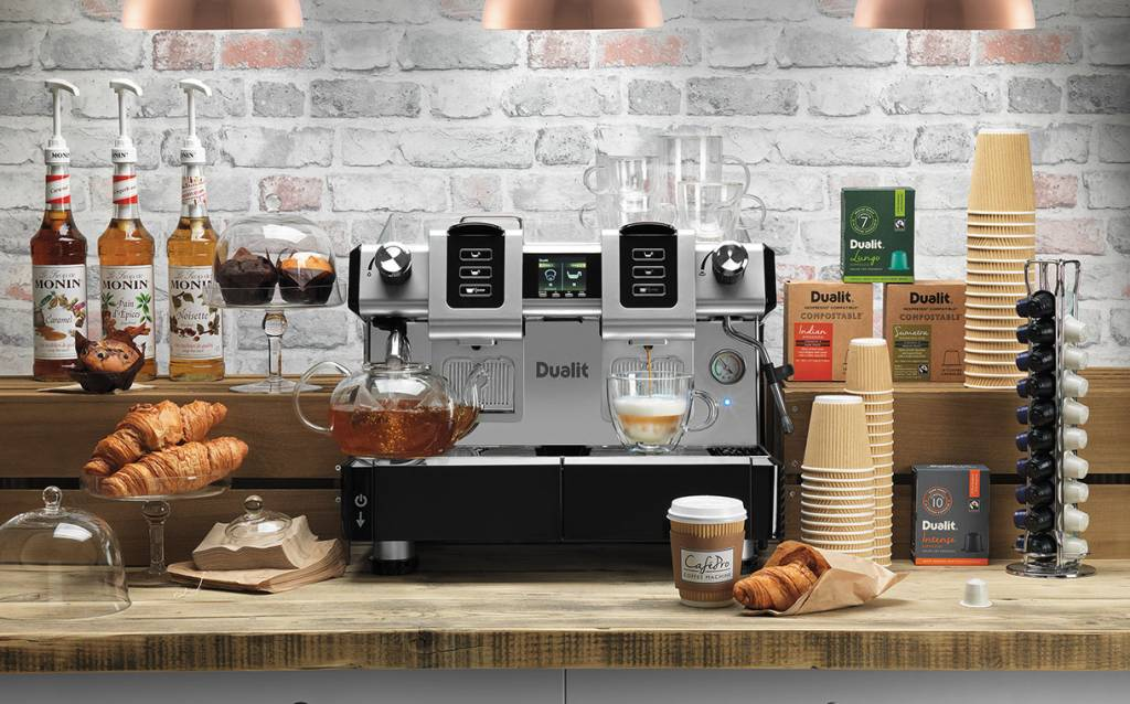 Dualit launches new CaféPro Capsule Machine - FoodBev Media