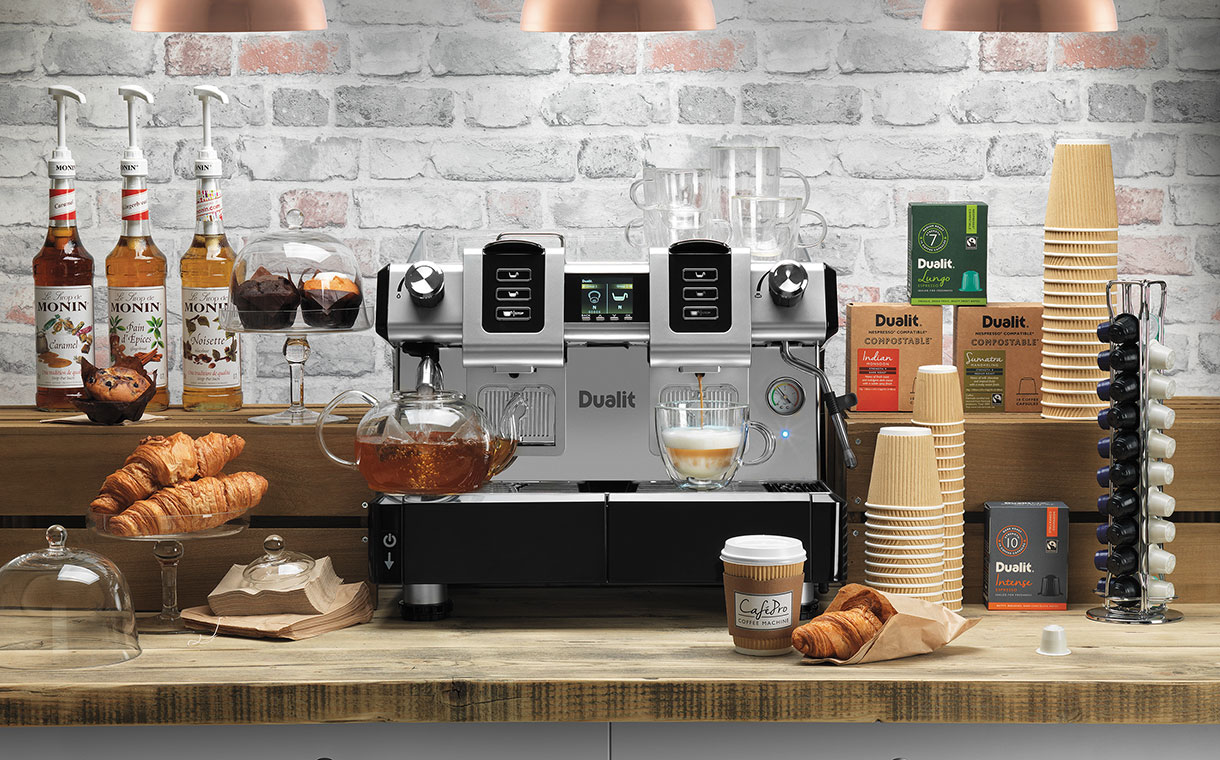 Dualit launches new CaféPro Capsule Machine
