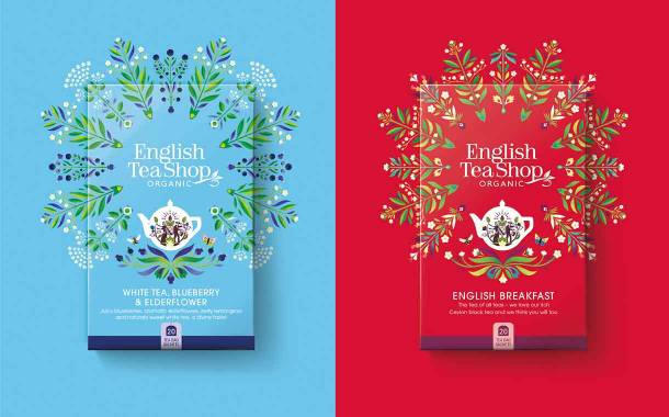 English Tea Shop updates brand identity alongside new packaging