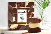 Jude's introduces lower-calorie, chocolate-coated ice cream sticks