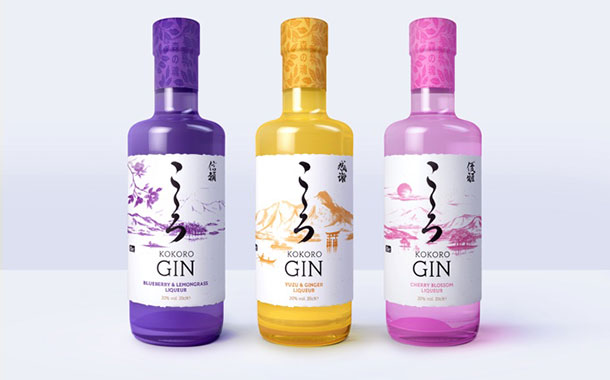 Kokoro Gin launches liqueurs inspired by Japanese flavours