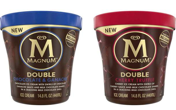 Unilever debuts Magnum Double Tubs ice cream range in the US