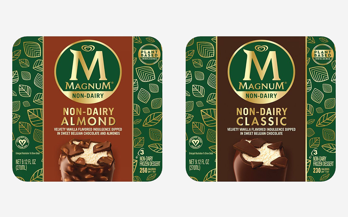 Magnum launches its first range of dairy-free ice cream bars
