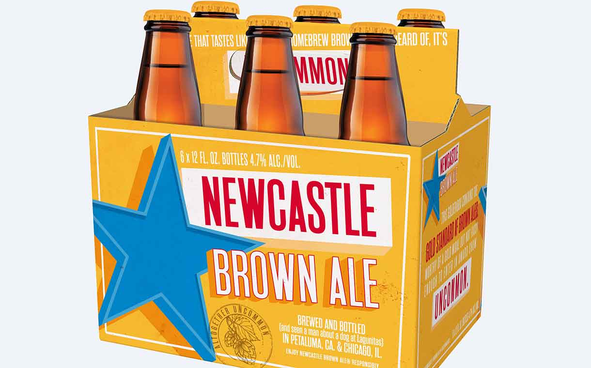 Newcastle Brown Ale relaunched in the US by Lagunitas Brewing