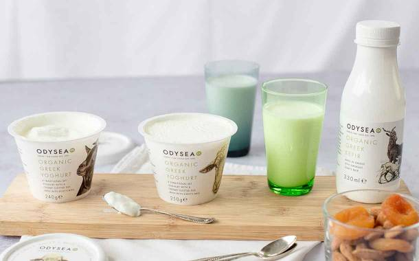 Odysea boosts dairy offer with new kefir and yogurts in the UK