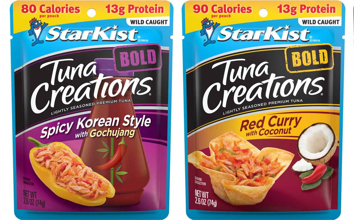 Starkist adds to Tuna Creations line with Asian-inspired flavours