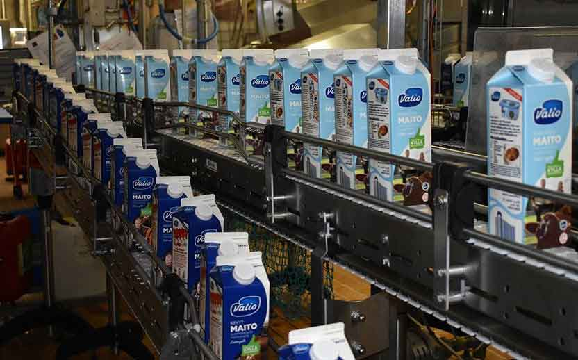 Valio Finland moves to 100% plant-based cartons for dairy line