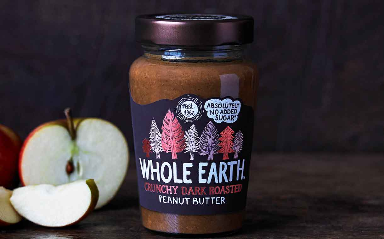 Wessanen UK introduces Whole Earth dark roasted peanut butter