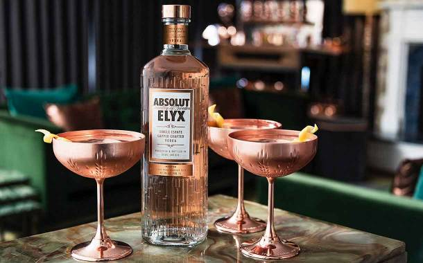 Pernod Ricard introduces copper-inspired Absolut Elyx glass bottle