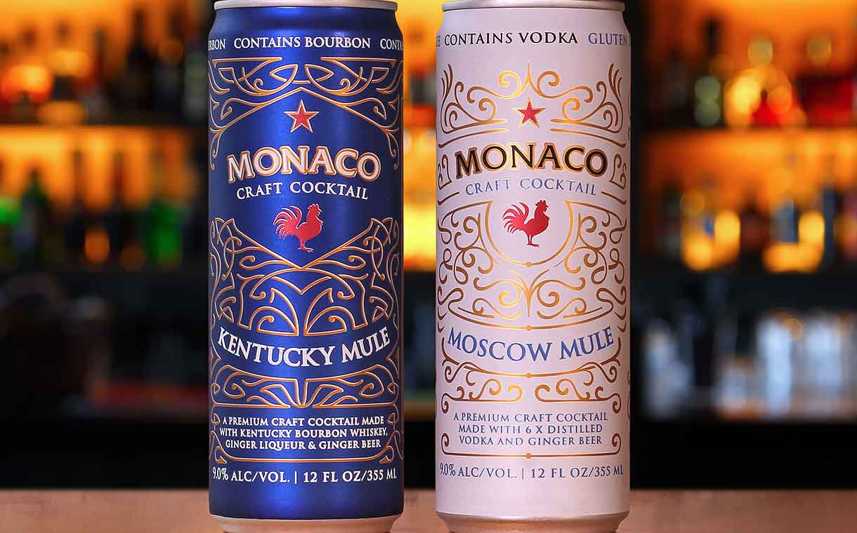 Atomic Brands debuts two new Monaco cocktails in Ardagh cans