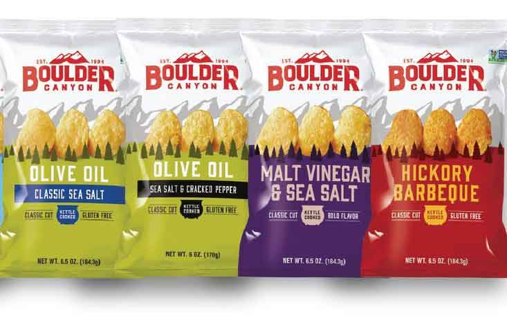 Utz Quality Foods gives Boulder Canyon snacks updated branding