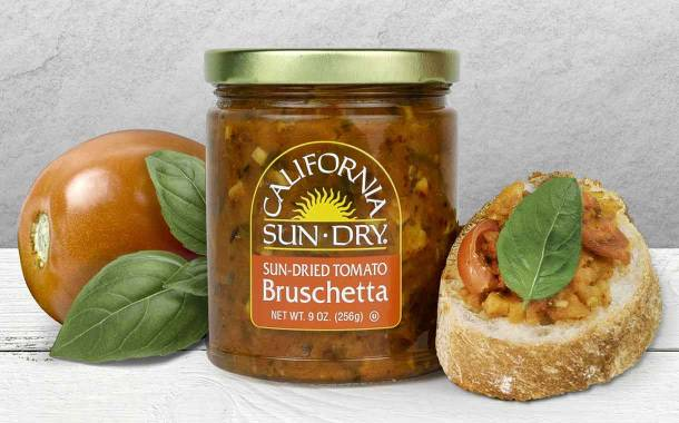 California Sun Dry launches Sun-Dried Tomato Bruschetta spread