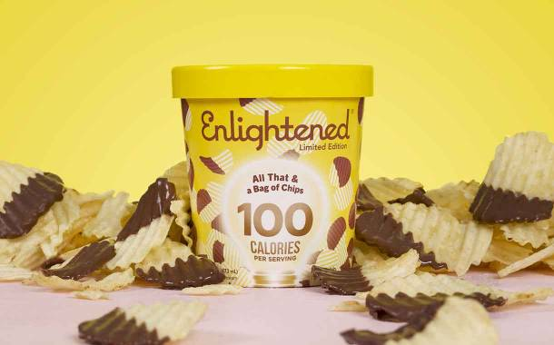 Savoury snack-inspired ice cream: Enlightened debuts two products