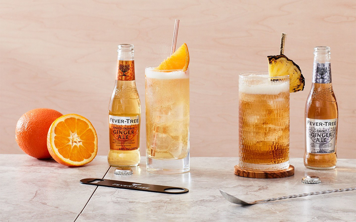 Fever-Tree develops three new takes on ginger ale for US market