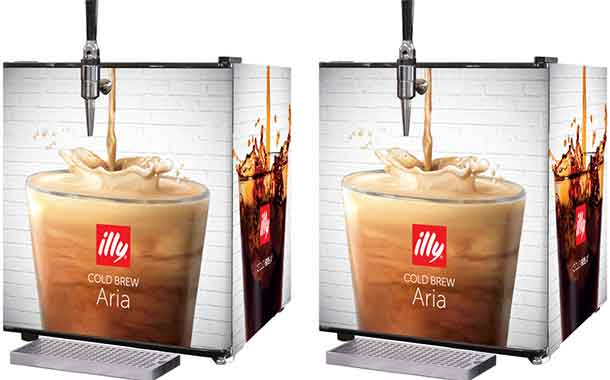 Illycaffè develops nitro cold brew system that infuses ambient air
