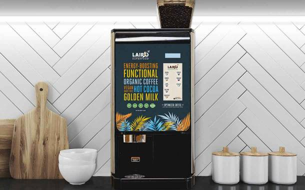Laird Superfood and Bunn debut automated hot beverage machine