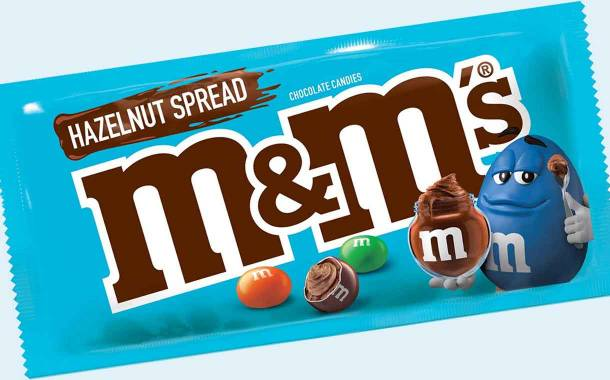 Mars introduces new hazelnut spread-filled M&M's in the US
