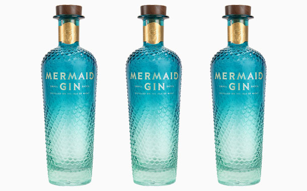 Mermaid Gin unveils striking and sustainable new bottle