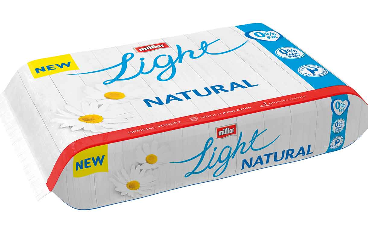 Müller moves into natural yogurt category with two new varieties