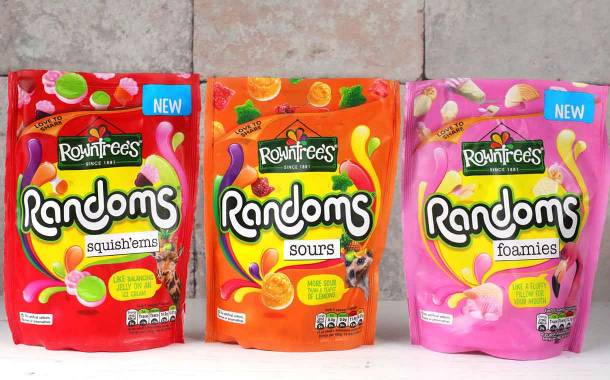 Nestlé releases new Rowntree's Randoms alongside rebranding