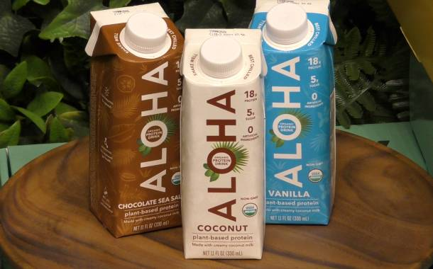 Plant-based protein brand Aloha: 'We're lifestyle, not life-stage'