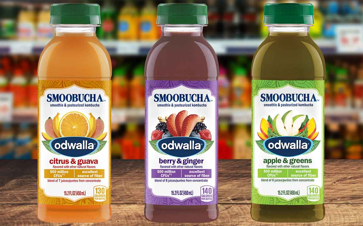 Coca-Cola introduces Odwalla Smoobucha beverages in the US