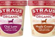 Straus Family Creamery releases trio of organic ice cream flavours