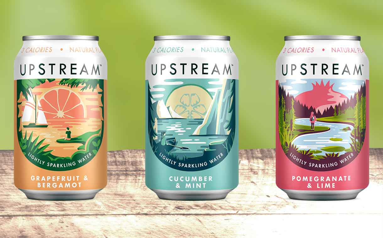 Clearly Drinks releases Upstream line of flavoured sparkling water