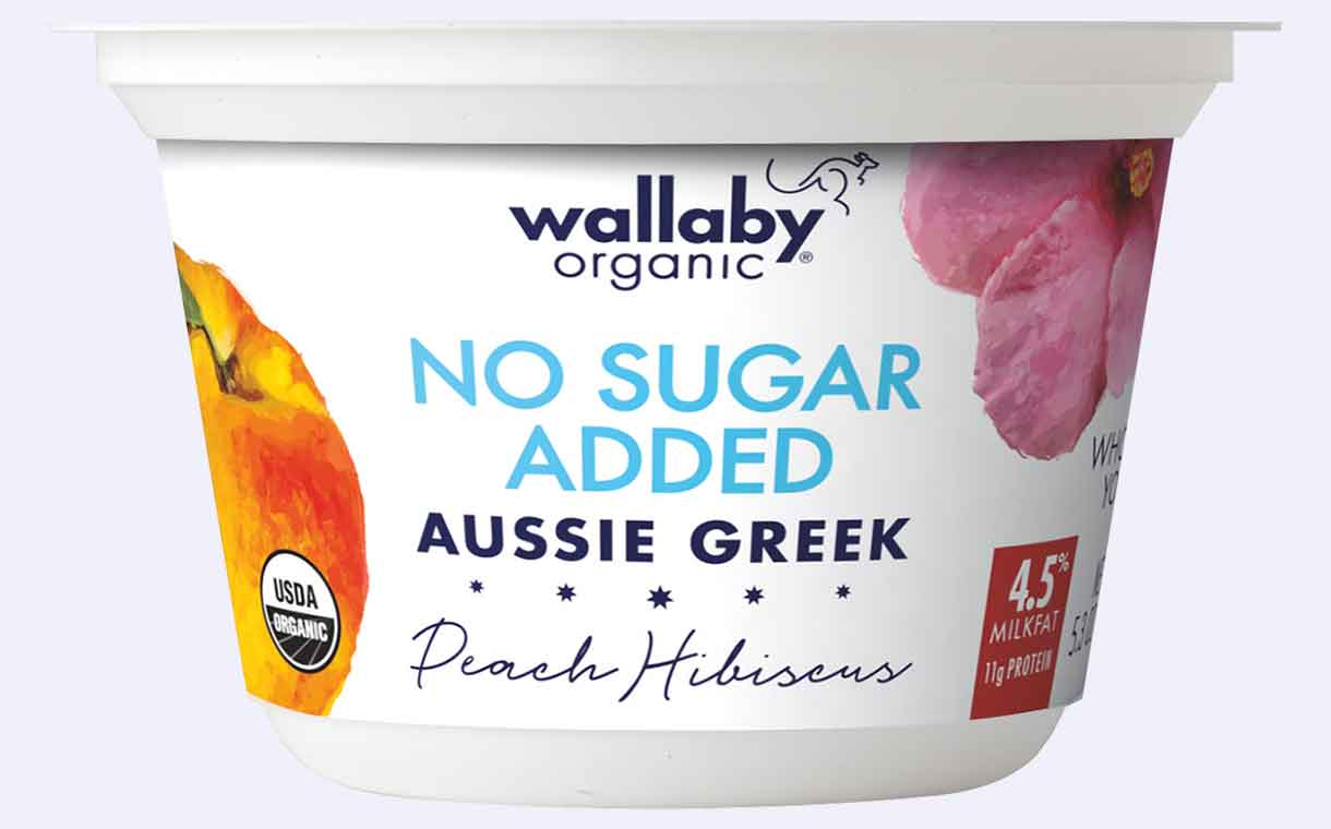Danone debuts Wallaby No Sugar Added Aussie Greek Yogurt range