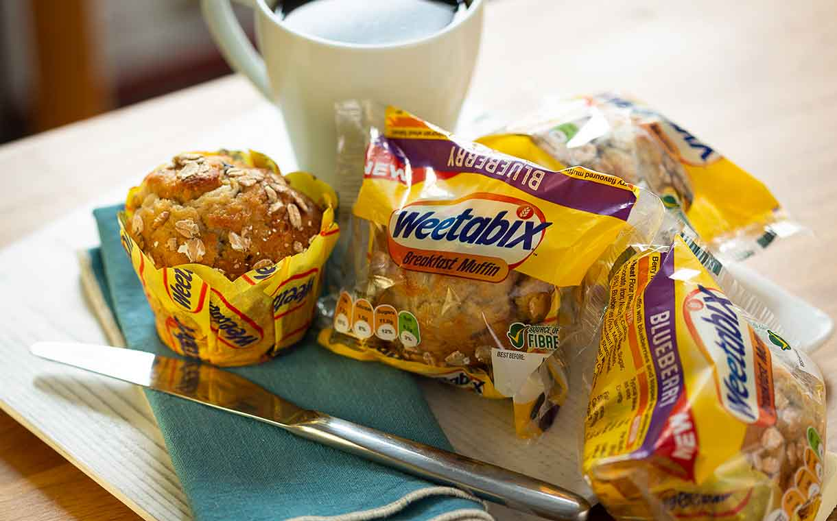 Weetabix joins forces with Kara to launch breakfast muffin range