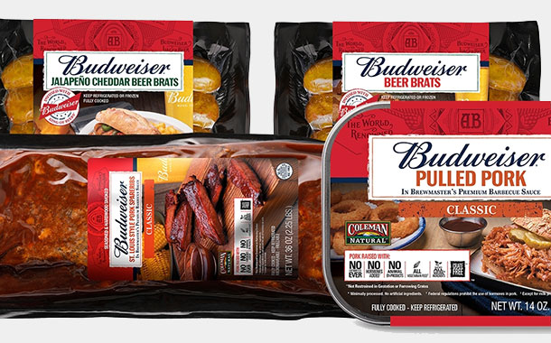 Budweiser and Coleman partner to create new meat products