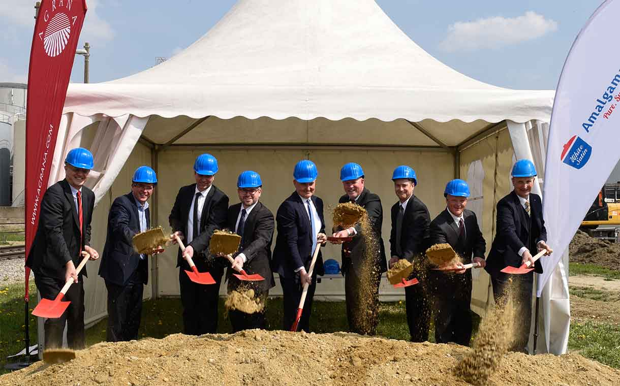 Agrana and Amalgamated Sugar break ground on 40m euro site