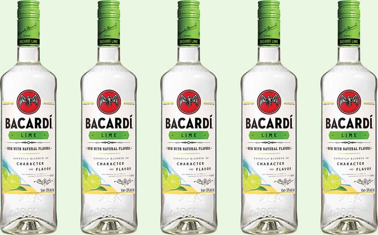 New Bacardi lime described as brand's 'most refreshing flavour'