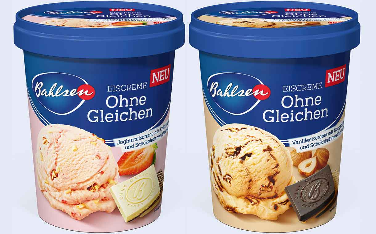 DMK and Bahlsen to release ice cream with confectionery pieces
