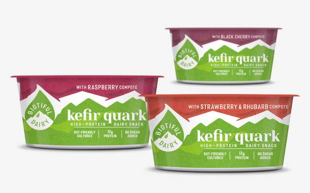 Biotiful unveils three spoonable kefir quarks with fruit compote