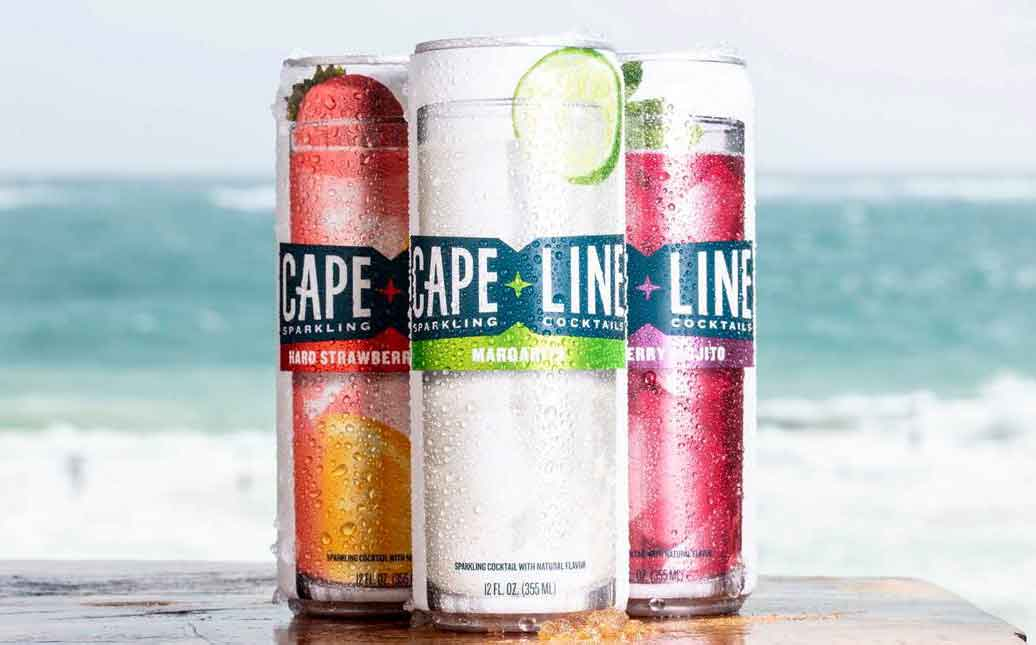 MillerCoors introduces sparkling cocktails under Cape Line brand