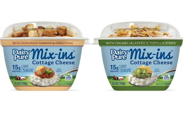Dean Foods adds to DairyPure Mix-ins cottage cheese range