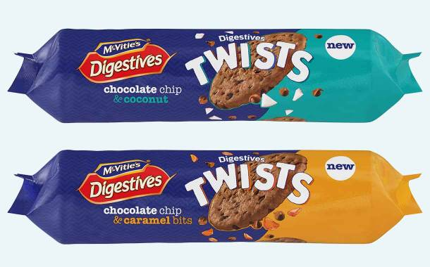 McVitie's Digestives Twists biscuit line launched by Pladis