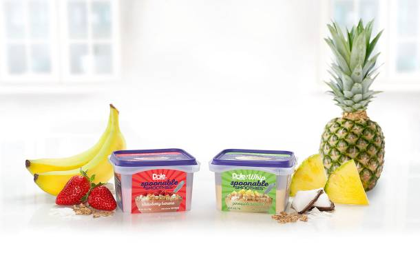 Dole to release new 'spoonable' fruit smoothie bowls in the US