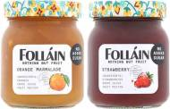Folláin Preserves hires Beatson Clark to rebrand glass packaging