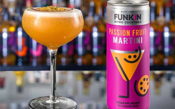 AG Barr's Funkin introduces nitrogen-infused cocktail line